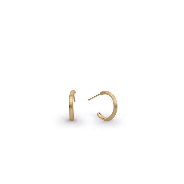 18K Yellow Gold Petite Hoop Earrings