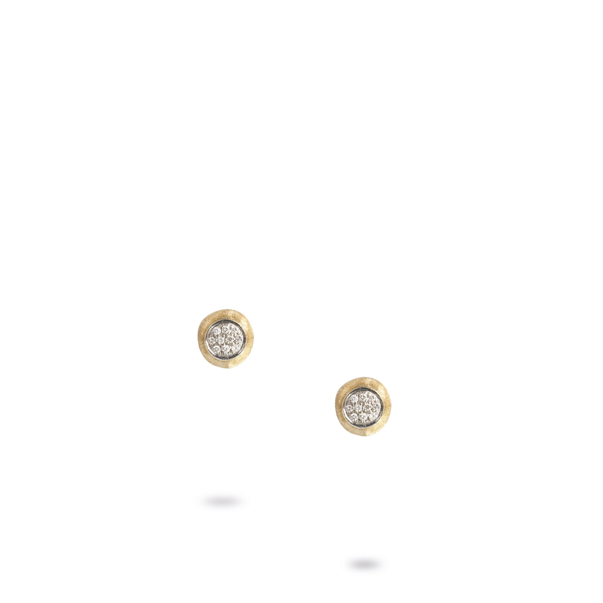 13475619d 18K Yellow Gold & Diamond Pave Small Stud Earrings – Little Switzerland