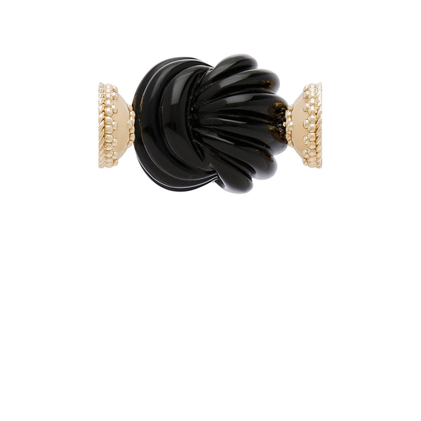 The Carved Black Onyx Knot Centerpiece