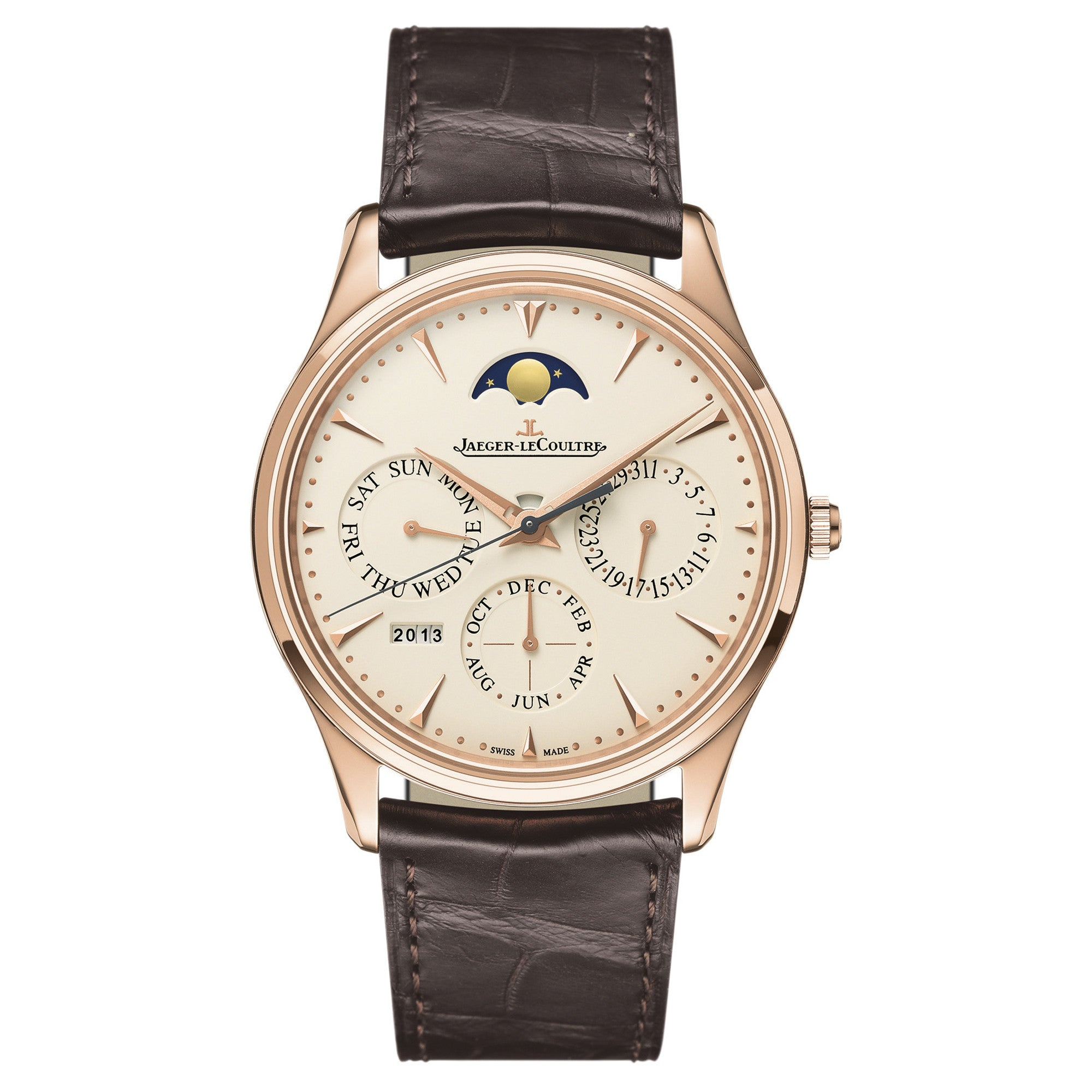 Master Ultra Thin Perpetual Calendar Automatic Men's Watch