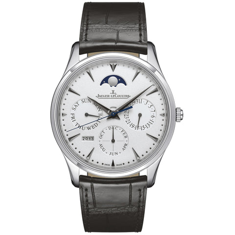 Master Ultra Thin Perpetual Calendar White Gold Men