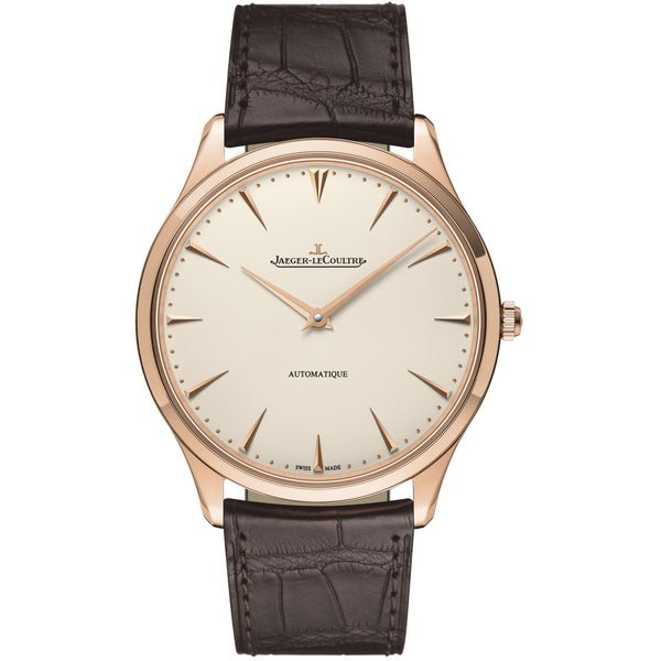 Master Ultra Thin Automatic Rose Gold Men's Watch