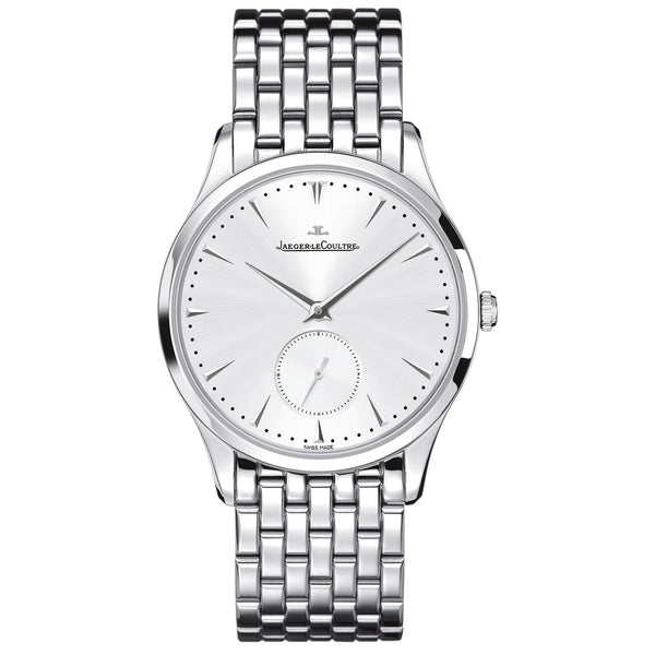Master Control Grande Ultra Thin Silver Dial Stainless Steel Men's Watch