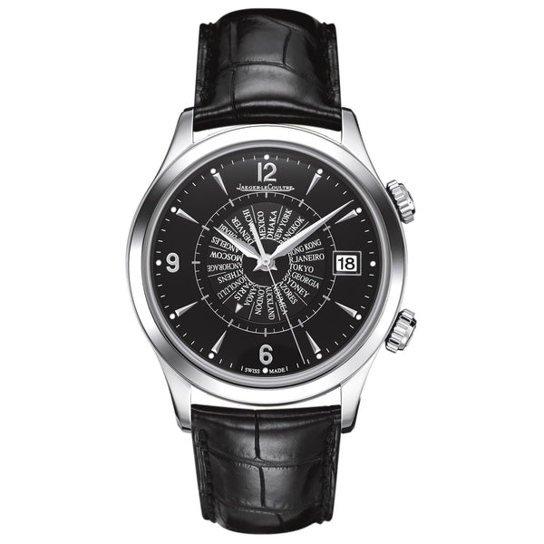 Master Memovox Black Dial Automatic Men's Watch