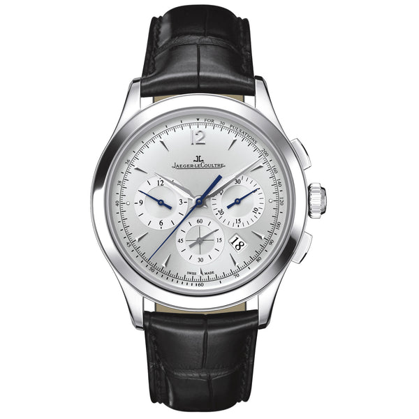 Jaeger LeCoultre Master Chronograph Silver Dial Automatic Men's Watch