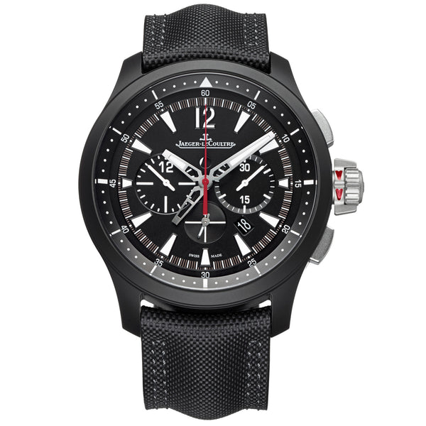 Master Compressor Chronograph Black Dial Men's Watch