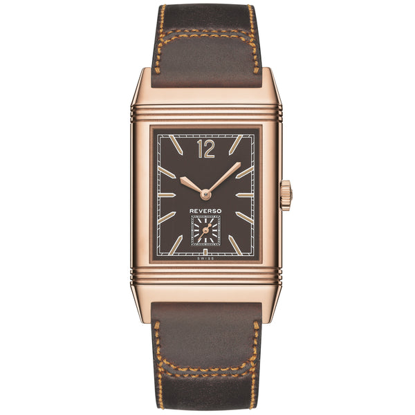Grande Reverso Ultra Thin Brown Dial Automatic Men's Watch