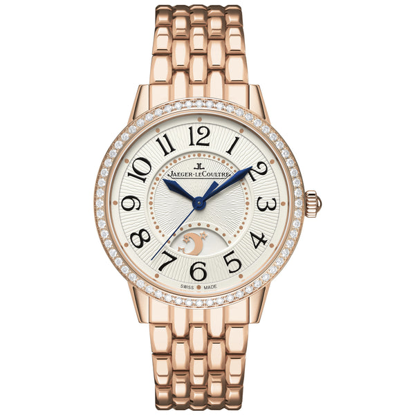 Rendez-Vous Silver Dial 18kt Rose Gold Ladies Watch