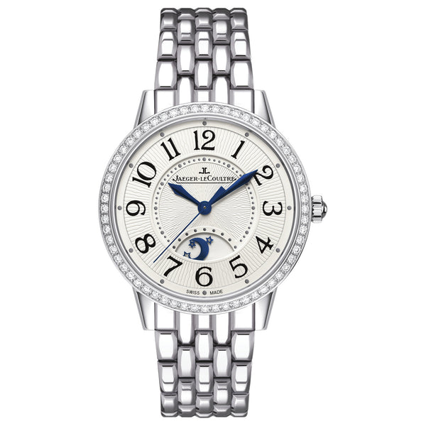 Rendez-Vous Silver Dial Stainless Steel Diamond Ladies Watch