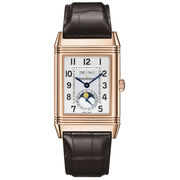 Grande Reverso Calendar Rose Gold Men's Watch