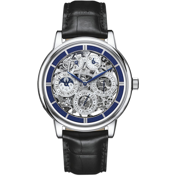 Master Grande Tradition Skeleton Dial Men's Watch