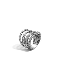 John Hardy Classic Chain Multiple Row Ring