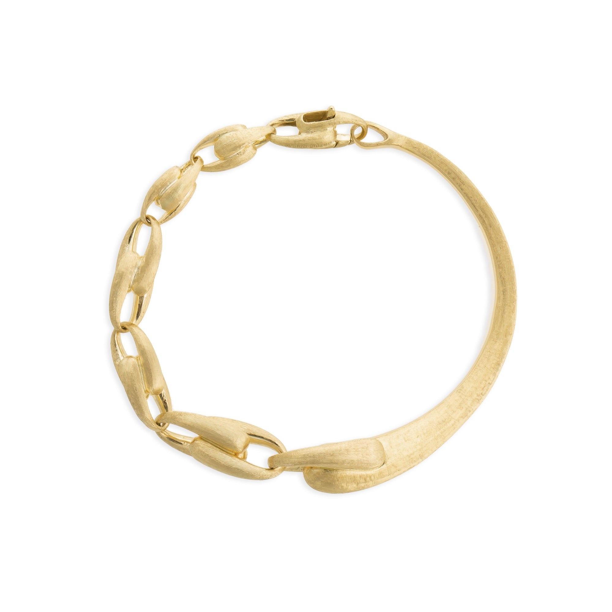18K Yellow Gold Banglet