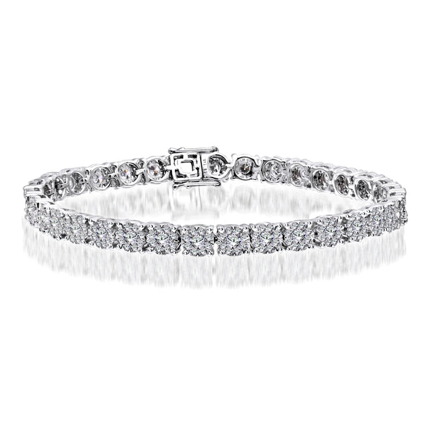 14KT White Gold Diamond Tennis Bracelet (5.31 ct. tw.)
