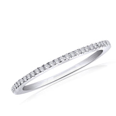 14KT White Gold Diamond Band (0.15 ct. tw.)