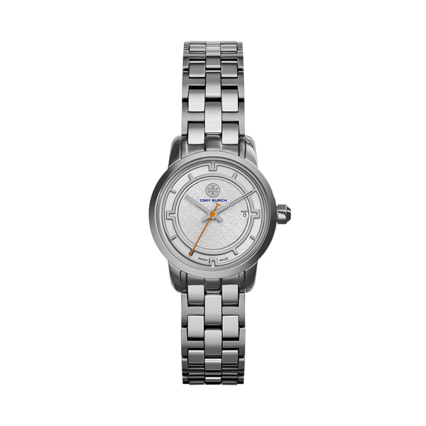 TORY WATCH, STAINLESS STEEL/SILVER, 28 MM