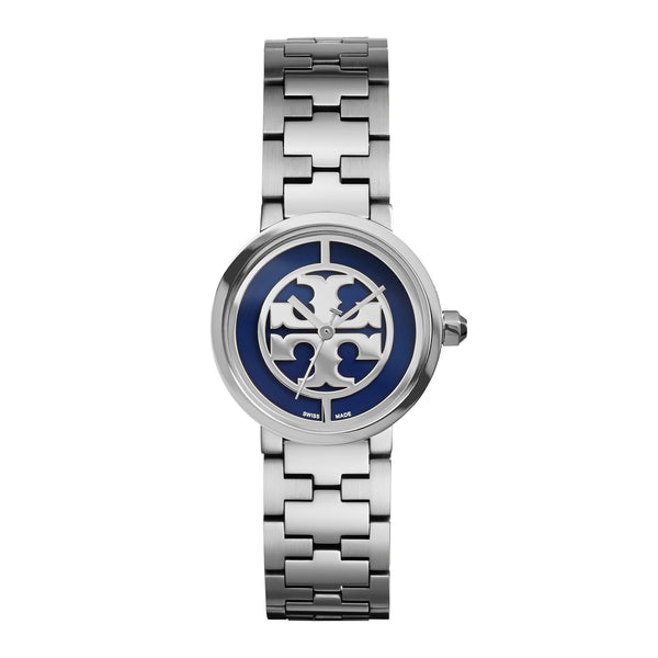 REVA WATCH, STAINLESS STEEL/NAVY, 28 MM