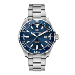 TAG Heuer Aquaracer Quartz Mens Blue Steel Watch