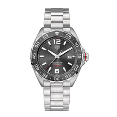 TAG Heuer Formula 1 Calibre 5 Automatic Mens Grey Steel Chronograph