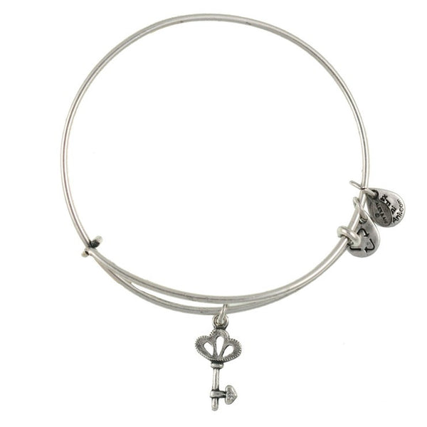 Skeleton Key Art Infusion Charm Bangle