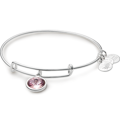 June Birth Month Charm Bangle