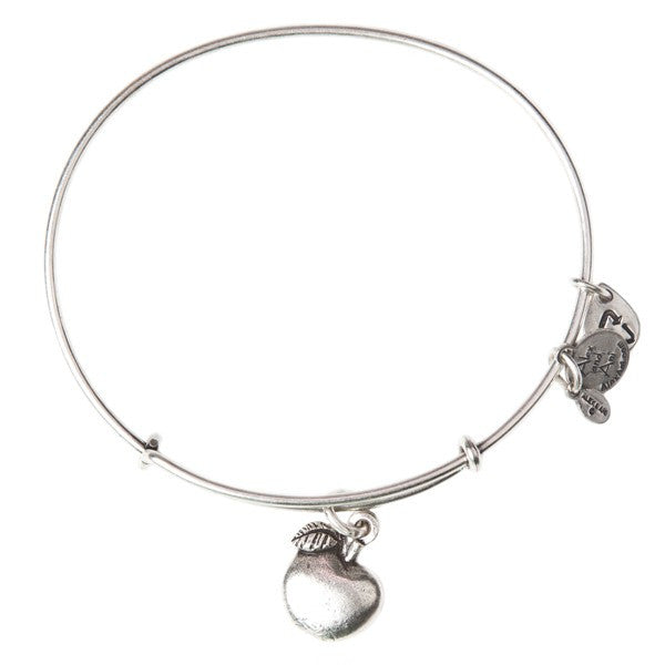 Apple of Abundance Charm Bangle