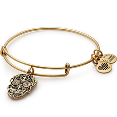 Calavera Charm Bangle