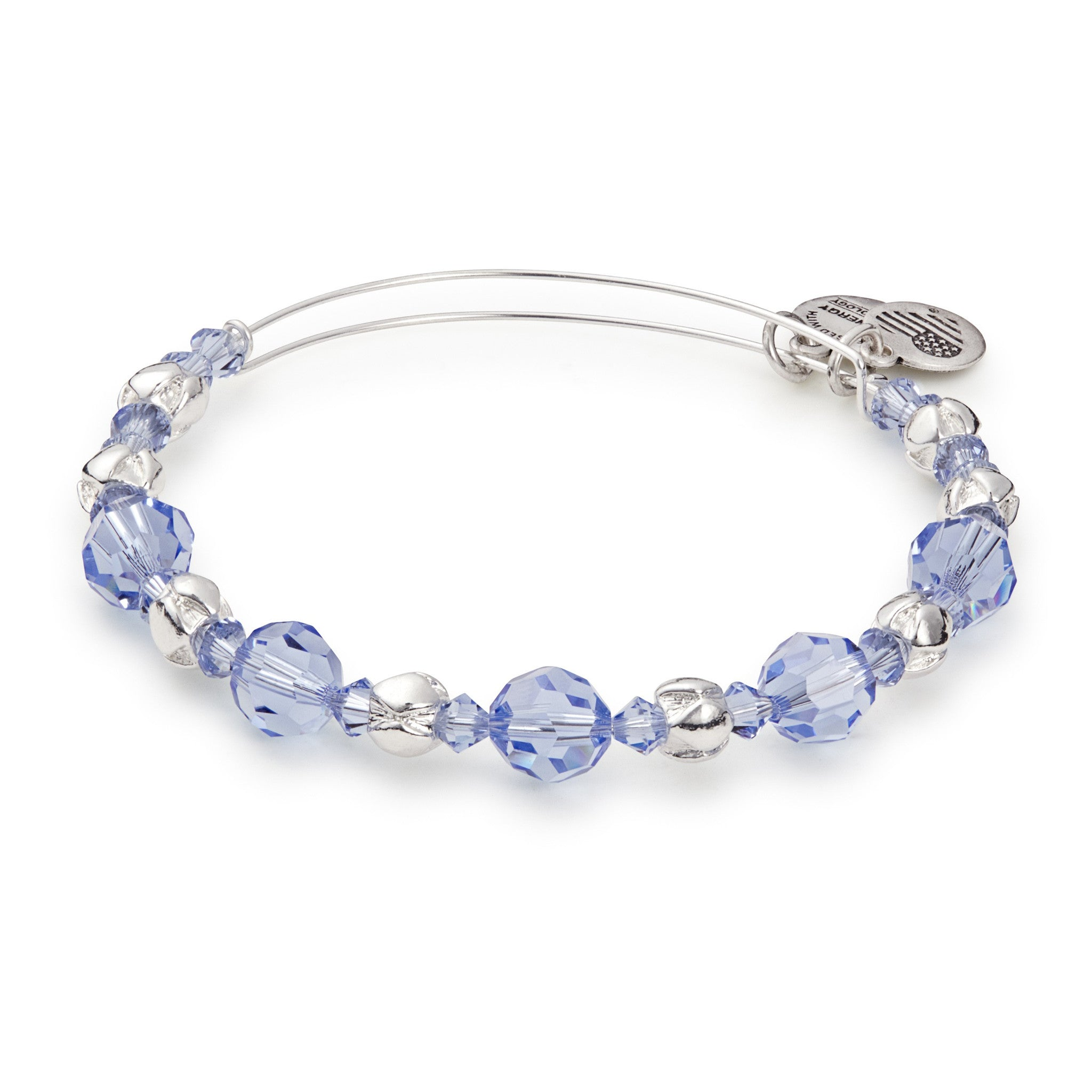 Rain Beaded Bangle With Swarovski® Crystals