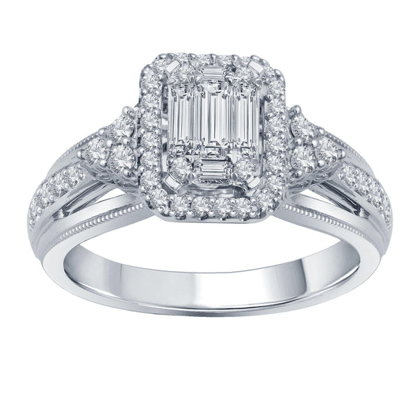 Diamond Ring 14k White Gold (0.65 ct. tw.)