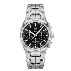 TAG Heuer Link Calibre 17 Automatic Mens Black Steel Watch