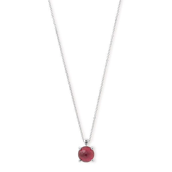 Rock Candy Sterling Silver Wonderland Single Stone Necklace