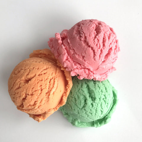 Rainbow Sherbet Scoops bubble bar