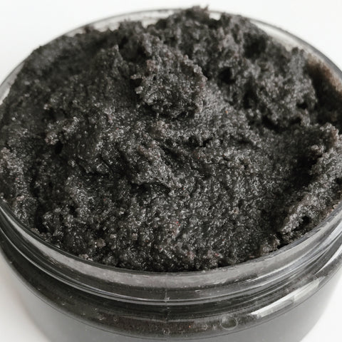 Wicked Games charcoal & sea salt scrub