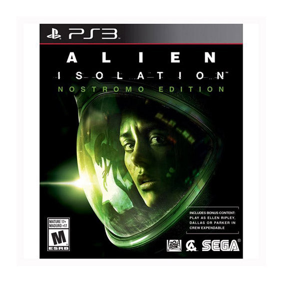 Alien: Isolation - Nostromo Edition - PS3 - LATAM-Spanish/English/French