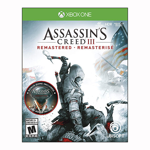 Assassin's Creed 3: Remastered - XBOX ONE