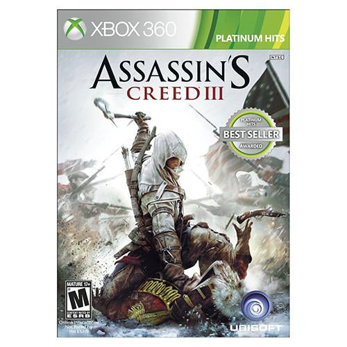 Assassin's Creed III - 360 - Original Físico Nuevo Sellado Garantizado - (GEEKSTOP)