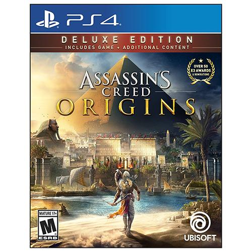 Assassin's Creed: Origins - Deluxe Edition - PS4 - Nuevo y Sellado