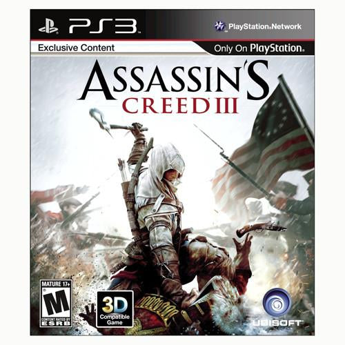 Assassin's Creed III - PS3 - Nuevo Y Sellado