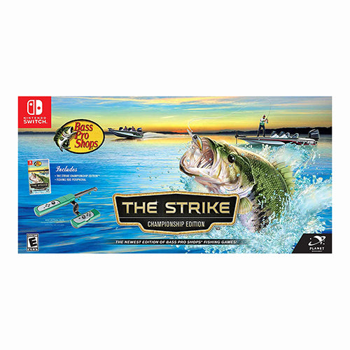 Bass Pro Shops: The Strike Championship Edition Bundle - Switch - Original Físico Nuevo Sellado Garantizado - (GEEKSTOP)