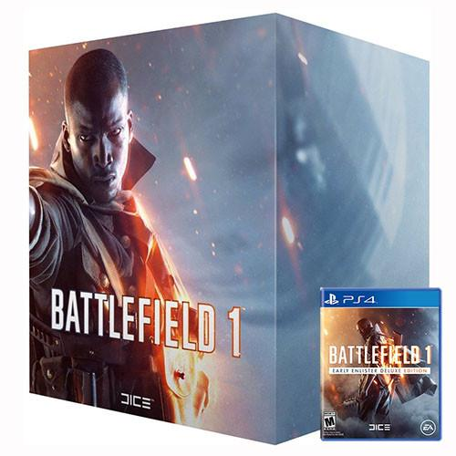 Battlefield 1 Exclusive Collector's Edition - Incluye Juego - PS4 - Nuevo y Sellado