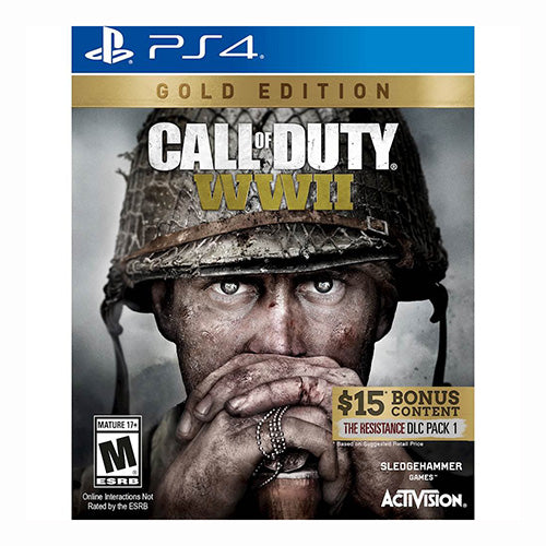 Call of Duty: WWII - Gold Edition - PS4 - Nuevo y Sellado