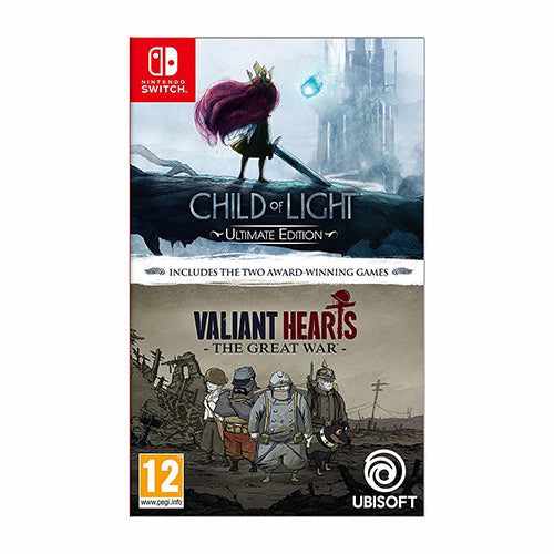 Child of Light - Ultimate Edition + Valiant Hearts The great War - EU - Switch