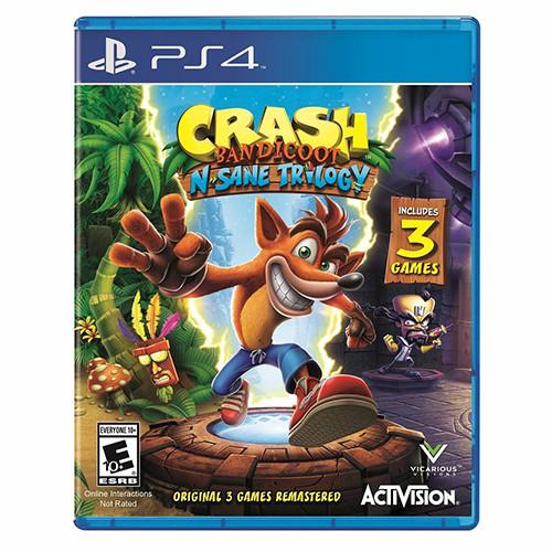 Crash Bandicoot N. Sane Trilogy - PS4 - Nuevo y Sellado