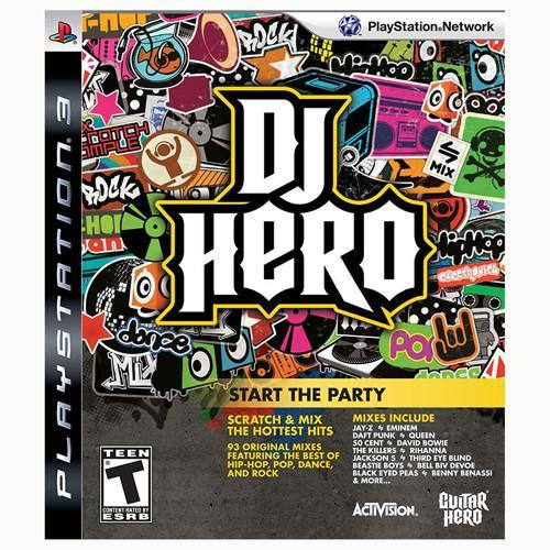 DJ Hero Stand Alone Software - PS3 - Nuevo Y Sellado
