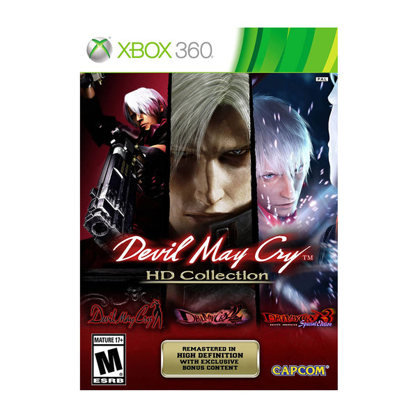 Devil May Cry Hd Collection - 360