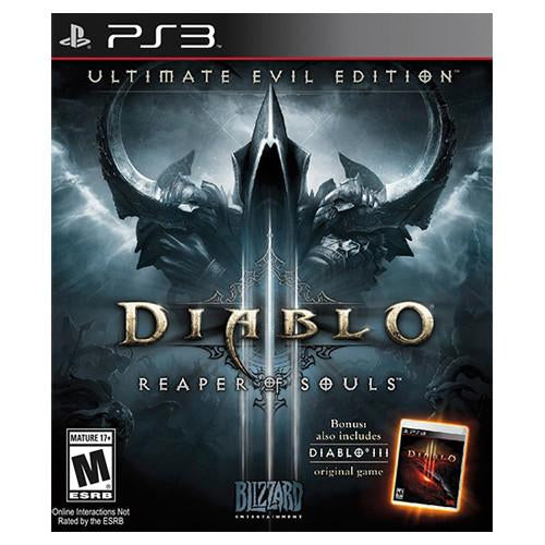 Diablo III: Reaper Of Souls - Ultimate Evil Edition - PS3 - Nuevo Y Sellado