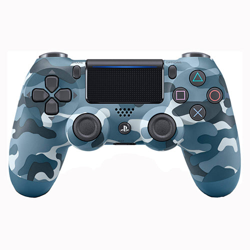 DualShock 4 Wireless Controller Blue Camouflage - PS4