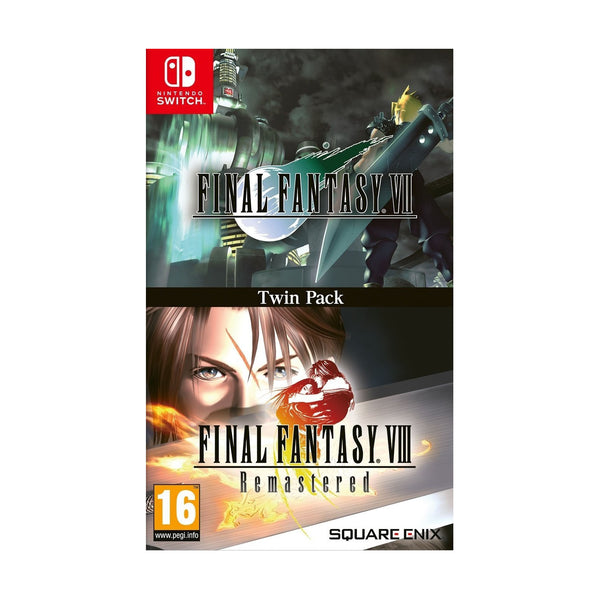 Final Fantasy VII & Final Fantasy VIII Remastered Twin Pack - Switch - EU