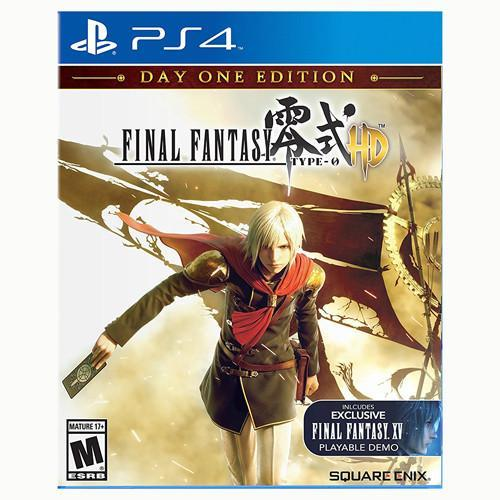Final Fantasy Type-0 HD Day One Edition - Playstation 4