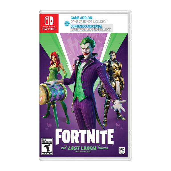 Fortnite: The Last Laugh Bundle - Switch/Lite - LATAM
